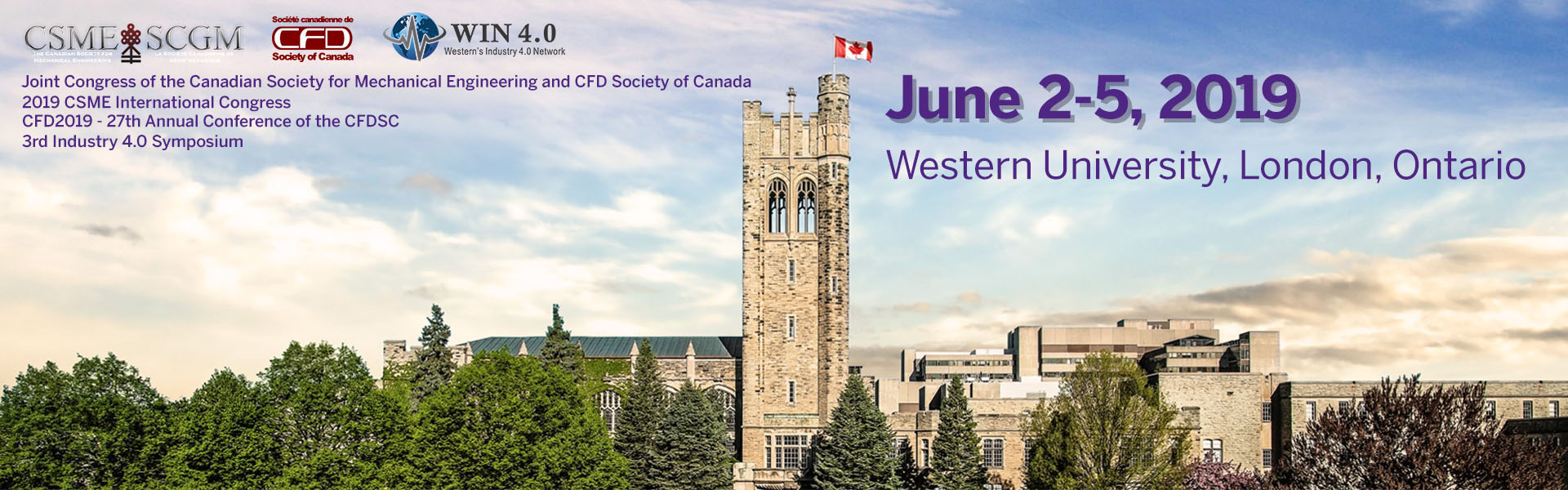 CSME-CFDSC 2019 - Western University