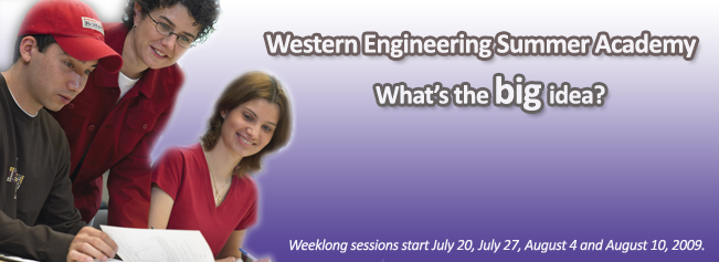 Western Engineering Summer Academy