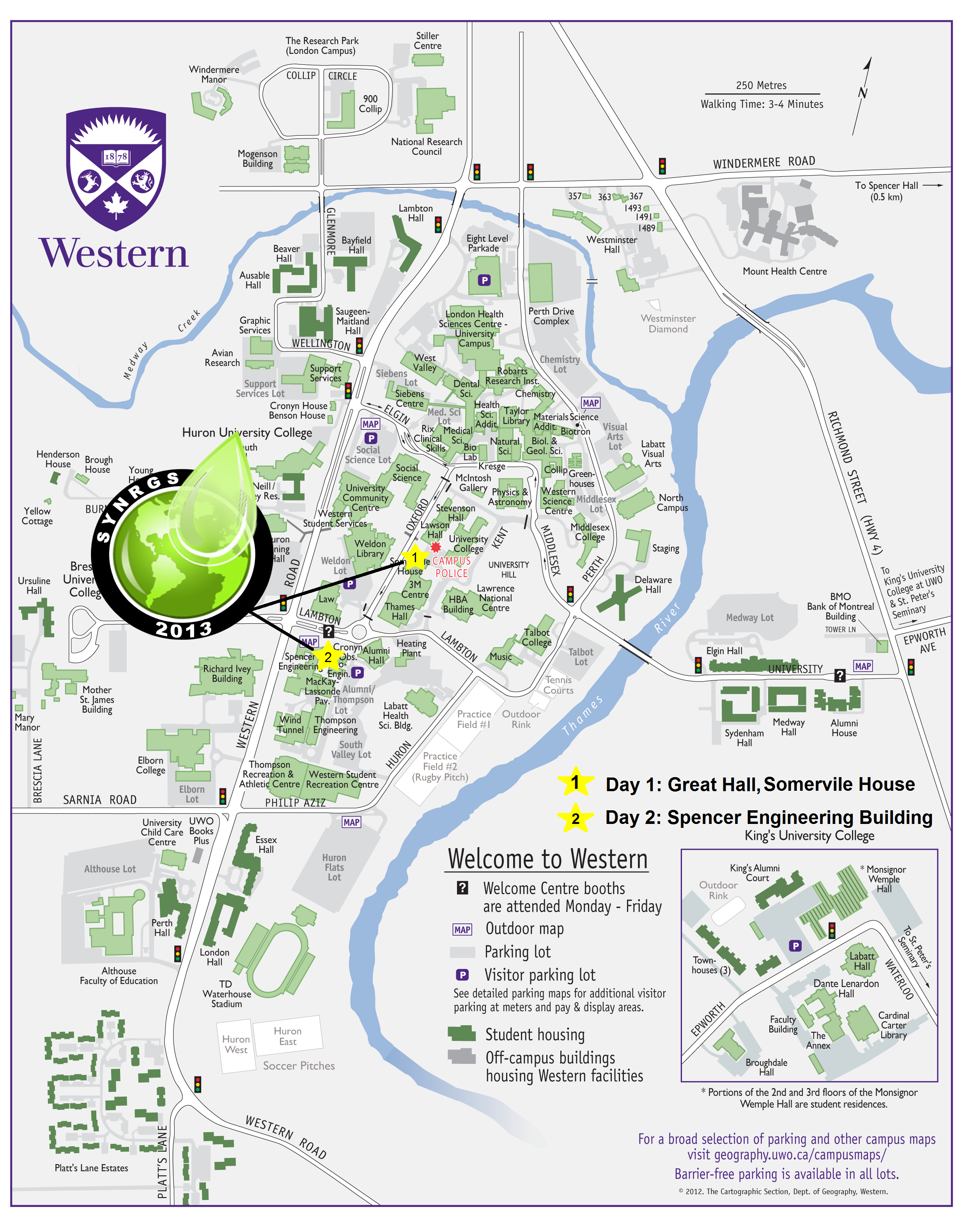 university of western ontario campus map Synrgs university of western ontario campus map